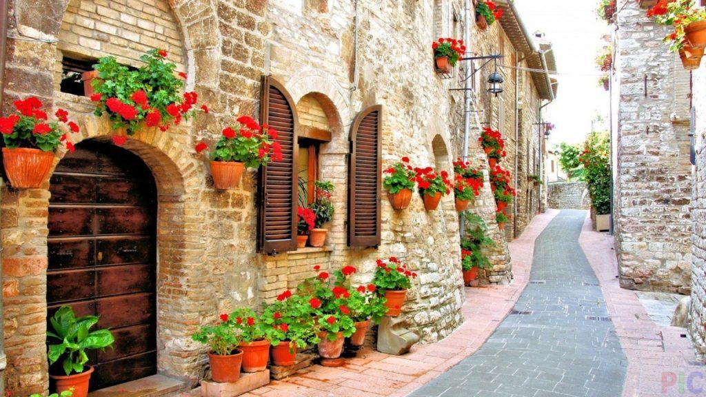 Домики в италии фото