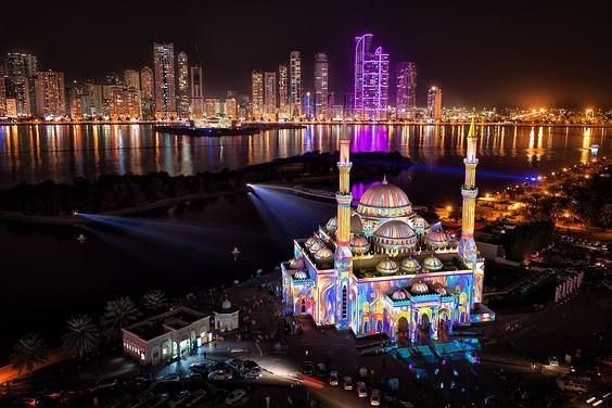 Фестиваль Света в ОАЭ