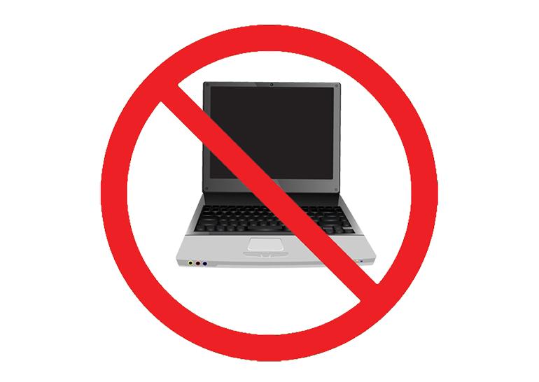 Запрет электронных устройств