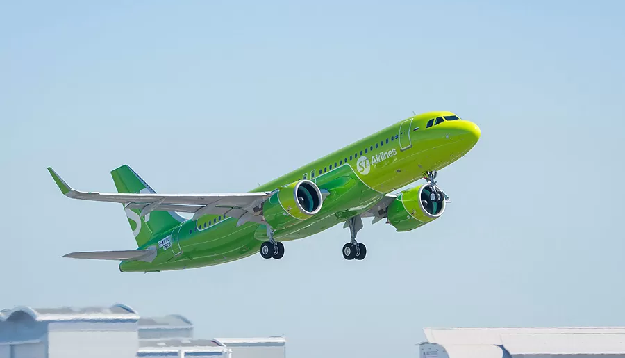 S7 Airbus A320neo